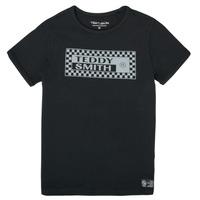 Odjeća Dječak  Majice kratkih rukava Teddy Smith T-VANY Crna
