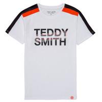 Odjeća Dječak  Majice kratkih rukava Teddy Smith T-MACK Bijela