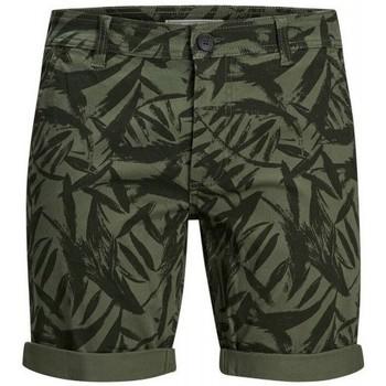Odjeća Muškarci  Bermude i kratke hlače Produkt Takm chino 12171311 Zelena