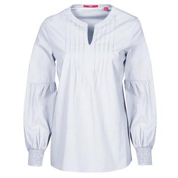 Odjeća Žene  Topovi i bluze S.Oliver 14-1Q1-11-4016-48W6 Ljubičasta