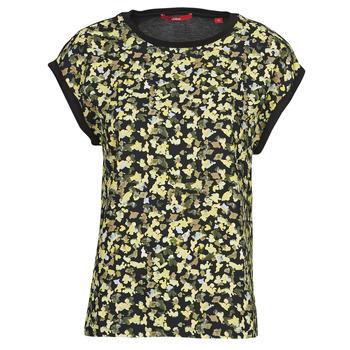 Odjeća Žene  Topovi i bluze S.Oliver 14-1Q1-32-7164-99B0 Crna / Multicolour
