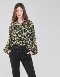 Odjeća Žene  Topovi i bluze S.Oliver 14-1Q1-11-4082-99A1 Crna / Multicolour