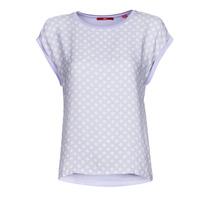 Odjeća Žene  Majice kratkih rukava S.Oliver 14-1Q1-32-6972-48B2 Blue