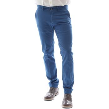 Odjeća Muškarci  Chino hlačei hlače mrkva kroja Sei3sei 6DAYTONA E1649 Plava