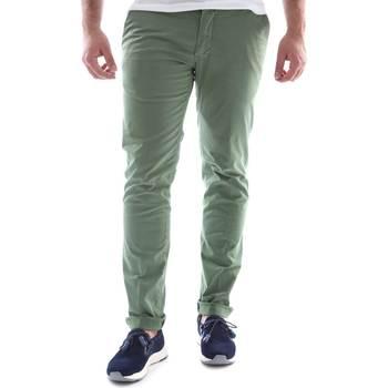 Odjeća Muškarci  Chino hlačei hlače mrkva kroja Sei3sei 6OYSTER E1648 Zelena