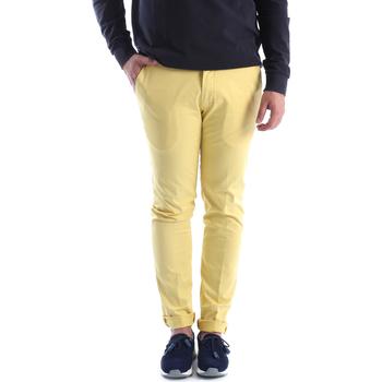 Odjeća Muškarci  Chino hlačei hlače mrkva kroja Sei3sei 6OYSTER E1648 Žuta boja