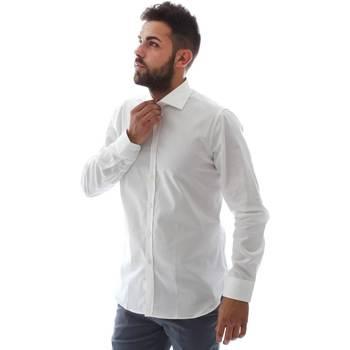 Odjeća Muškarci  Košulje dugih rukava Gmf EQ2 1428 951106/01 Bijela