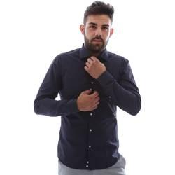 Odjeća Muškarci  Košulje dugih rukava Gmf EQ2 1079 952151/02 Plava