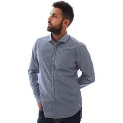 Odjeća Muškarci  Košulje dugih rukava Gmf GMF3 3218 961153/01 Plava