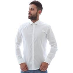 Odjeća Muškarci  Košulje dugih rukava Gmf GMF5 4864 8 Bijela