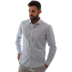 Odjeća Muškarci  Košulje dugih rukava Gmf 961232/4 Bijela