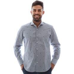 Odjeća Muškarci  Košulje dugih rukava Gmf 961231/4 Plava