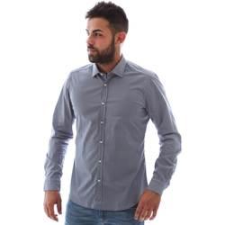 Odjeća Muškarci  Košulje dugih rukava Gmf 961146/2 Plava