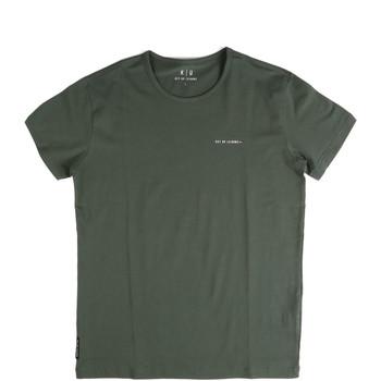 Odjeća Muškarci  Majice kratkih rukava Key Up 2G69S 0001 Zelena