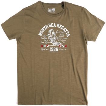 Odjeća Muškarci  Majice kratkih rukava Key Up 2G78S 0001 Zelena
