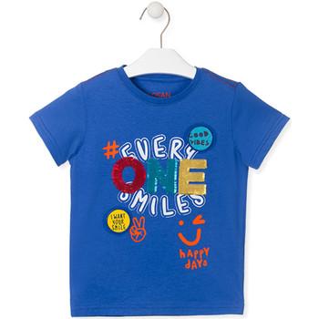 Odjeća Djeca Majice kratkih rukava Losan 015-1032AL Plava