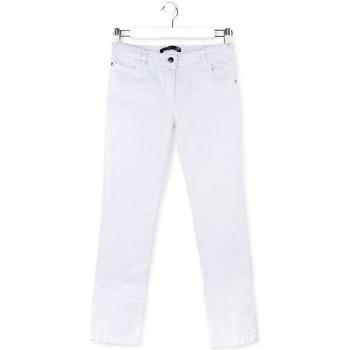 Odjeća Djeca Hlače s pet džepova Losan 714 9650AB Bijela