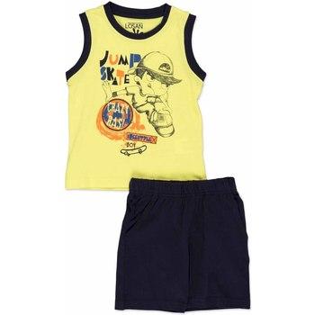Odjeća Djeca Dječji kompleti Losan 815-8042AC Žuta boja