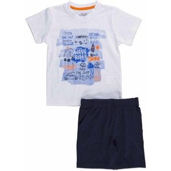 Odjeća Djeca Dječji kompleti Losan 815-8045AC Bijela