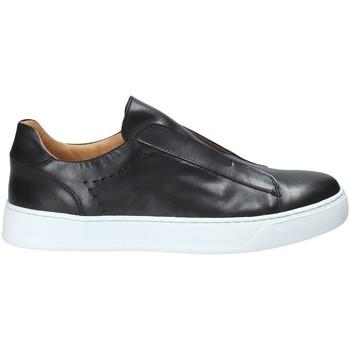 Obuća Muškarci  Slip-on cipele Exton 510 Crno