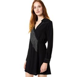 Odjeća Žene  Kratke haljine Liu Jo F69292 T9121 Crno