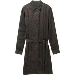 Odjeća Žene  Kratke haljine Desigual 19WWVW69 Zelena