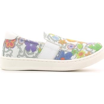Obuća Djeca Slip-on cipele Crazy MK1063B6E.X Bijela