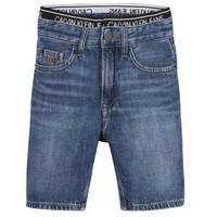 Odjeća Dječak  Bermude i kratke hlače Calvin Klein Jeans AUTHENTIC LIGHT WEIGHT Blue