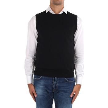 Odjeća Muškarci  Veste i kardigani La Fileria 14290 55168 Black
