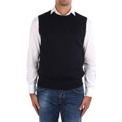 Odjeća Muškarci  Veste i kardigani La Fileria 14290 55168 Blue