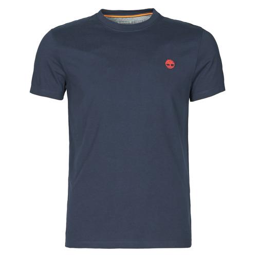 Odjeća Muškarci  Majice kratkih rukava Timberland SS DUNSTAN RIVER POCKET TEE SLIM Blue