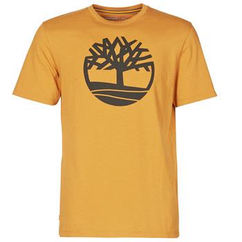 Odjeća Muškarci  Majice kratkih rukava Timberland SS KENNEBEC RIVER BRAND TREE TEE Camel