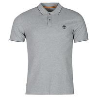 Odjeća Muškarci  Polo majice kratkih rukava Timberland SS MILLERS RIVER TIPPED PIQUE SLIM Siva