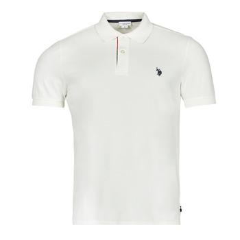 Odjeća Muškarci  Polo majice kratkih rukava U.S Polo Assn. CURT POLO Bijela