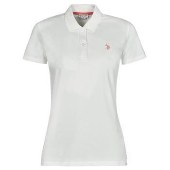 Odjeća Žene  Polo majice kratkih rukava U.S Polo Assn. LOGO POLO SS Bijela