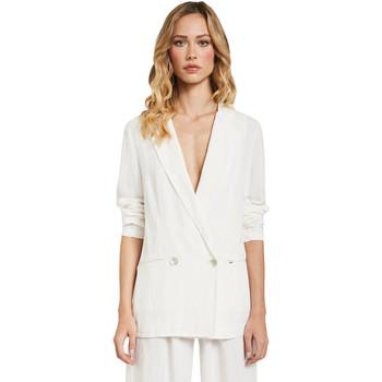 Odjeća Žene  Jakne i sakoi Gaudi 011FD35012 Bijela