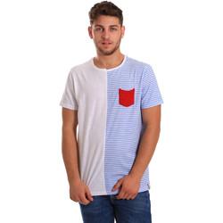 Odjeća Muškarci  Majice kratkih rukava Gaudi 811FU64046 Bijela