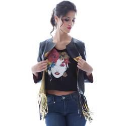 Odjeća Žene  Jakne i sakoi Grace Shoes DF131 Crno