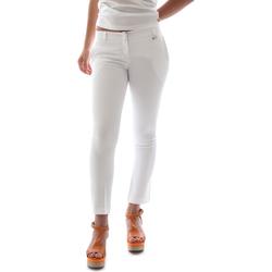Odjeća Žene  Chino hlačei hlače mrkva kroja Animagemella 16PE003 Bijela