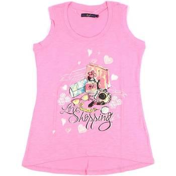 Odjeća Žene  Majice s naramenicama i majice bez rukava Key Up S88Z 0001 Ružičasta