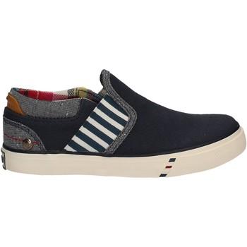 Obuća Djeca Slip-on cipele Wrangler WJ17103 Plava
