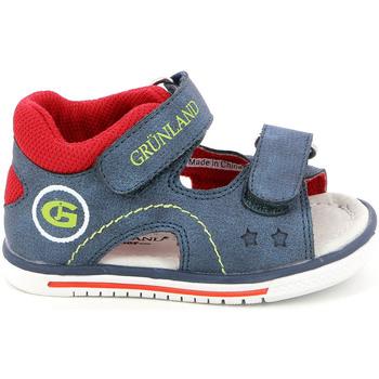 Obuća Djeca Sandale i polusandale Grunland PS0017 Plava