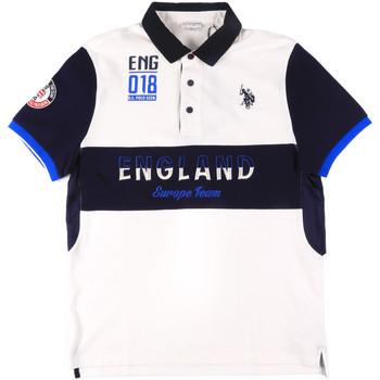 Odjeća Muškarci  Polo majice kratkih rukava U.S Polo Assn. 43773 41029 Bijela