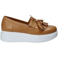 Obuća Žene  Slip-on cipele Exton E01 Smeđa