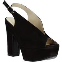 Obuća Žene  Sandale i polusandale Grace Shoes TQ 107 Crno