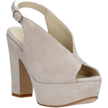 Obuća Žene  Sandale i polusandale Grace Shoes TQ 107 Bež