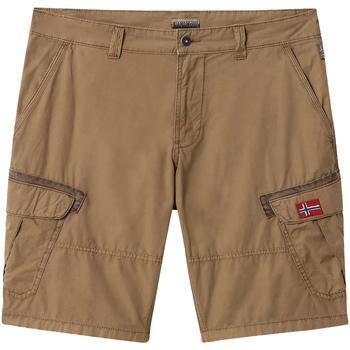 Odjeća Muškarci  Bermude i kratke hlače Napapijri NP0A4E1O Smeđa