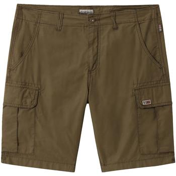 Odjeća Muškarci  Bermude i kratke hlače Napapijri NP0A4E1K Zelena