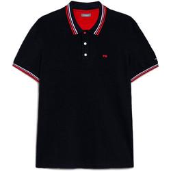 Odjeća Muškarci  Polo majice kratkih rukava NeroGiardini E072390U Plava