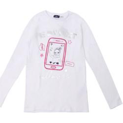 Odjeća Djeca Majice dugih rukava Chicco 09006871000000 Bijela